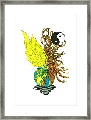 Mother Earth Framed Print by Harry Richards