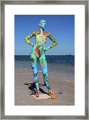 Mother Earth Framed Print by Jennifer Rogers