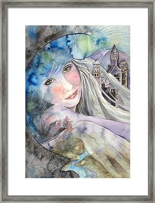 Mother Earth Framed Print by Kim Whitton