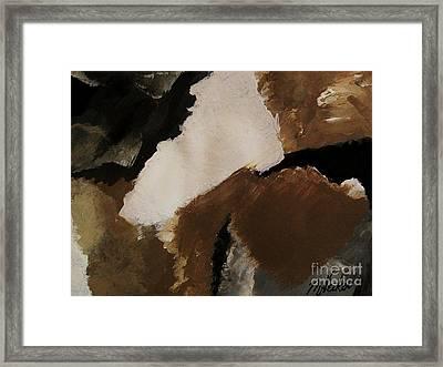 Mother Earth Ll Framed Print by Marsha Heiken
