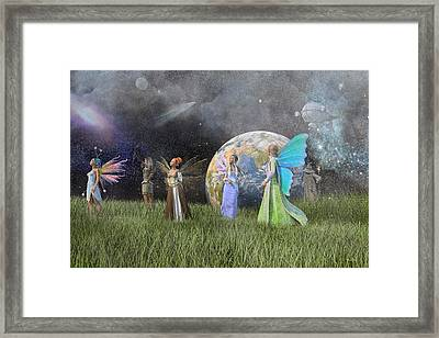 Mother Earth Series Plate1 Framed Print