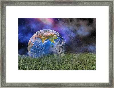 Mother Earth Series Plate4 Framed Print