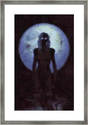 Mother Goddess Framed Print