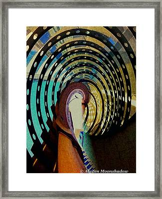 Mother Goose Framed Print by AlyZen Moonshadow