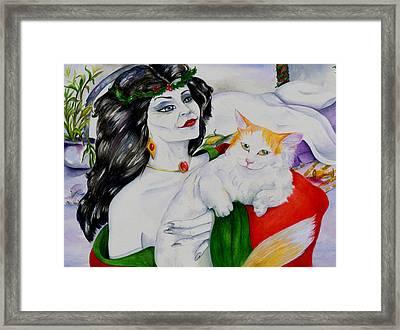 Mother Holly Framed Print