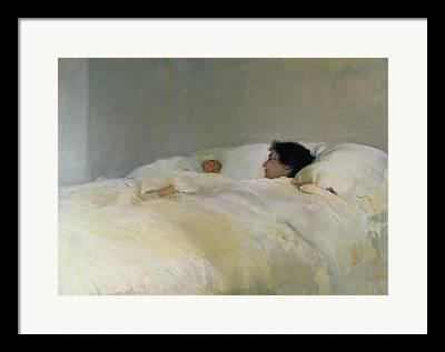 Warm Quilt Framed Prints