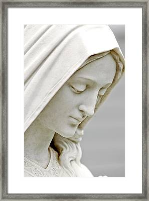 Mother Mary Comes To Me... Framed Print by Greg Fortier