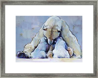 Mother Mountain Framed Print by Mark Adlington