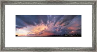 Mother Nature At Work Framed Print