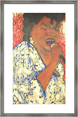Mother Nature Koko Taylor Framed Print