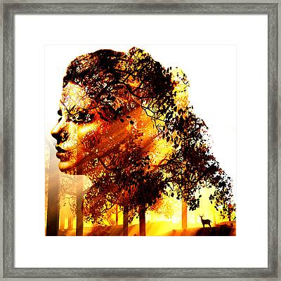 Mother Nature Framed Print by Marian Voicu