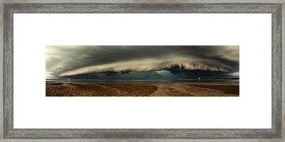Mother Natures Revenge Framed Print by Mel Brackstone