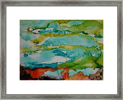 Mother Ocean Framed Print by Susan Kubes