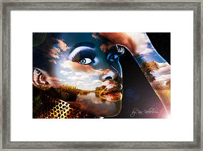 Mother Of All Creation Framed Print by Kia Kelliebrew