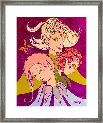 Magical Women Framed Print by Jean Clarke