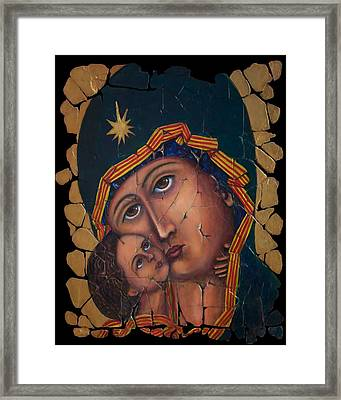 Mother Of God Framed Print