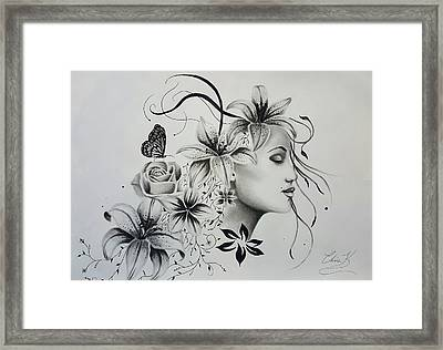Mother Of Life Framed Print by Christopher Kyle