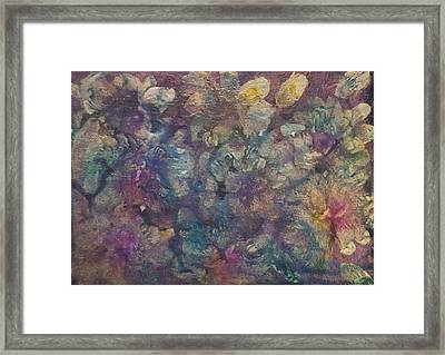 Mother Of Pearl Framed Print