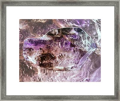 Mother Of The Void Framed Print by The Crystal Deities Special Collection