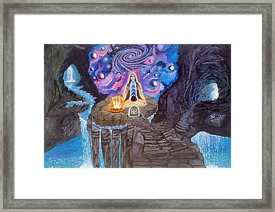 Mother Of Universe - Bhairavi Framed Print