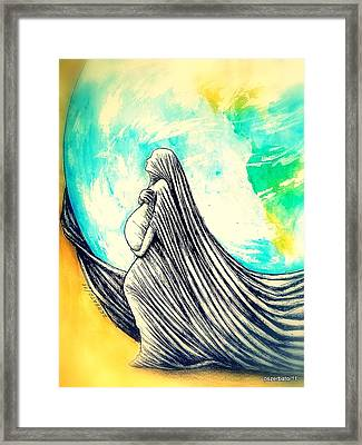 Mother Framed Print by Paulo Zerbato