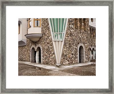 Mother Teresa House Framed Print by Rae Tucker