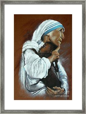 Mother Theresa Framed Print