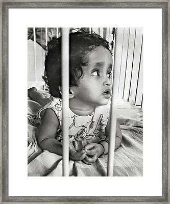 Mother Theresa's Orphanage    2 Framed Print by Steve Harrington
