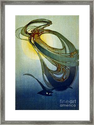 Mother West Wind 1920 Framed Print by Padre Art