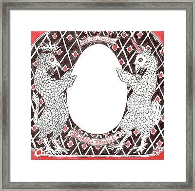 Motherclucker Crest Framed Print