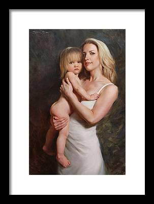 Motherhood Framed Prints