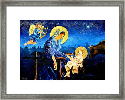 Motherhood Framed Print by Henryk Gorecki