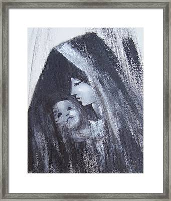 Motherly Love Framed Print by Martha Mullins