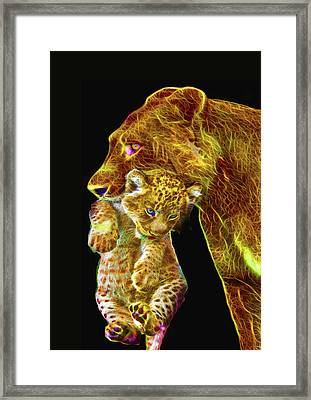 Motherly Love Framed Print by Michael Durst