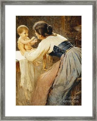 Motherly Love Framed Print