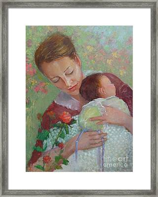 Mother's Day    Copyrighted Framed Print by Kathleen Hoekstra