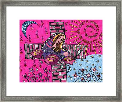 Mother's Day Framed Print by Agatha Green