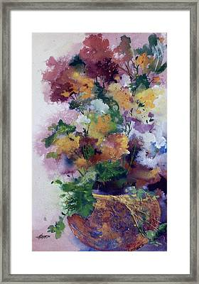 Mother's Day Floral Framed Print