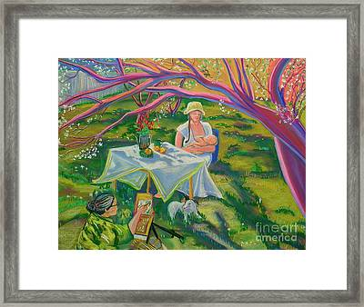 Mothers Day Framed Print by George Chacon