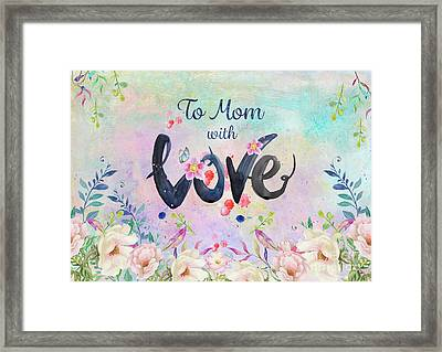Mother's Day Love Framed Print