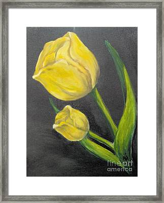 Framed Print featuring the painting Mother's Day by Saundra Johnson