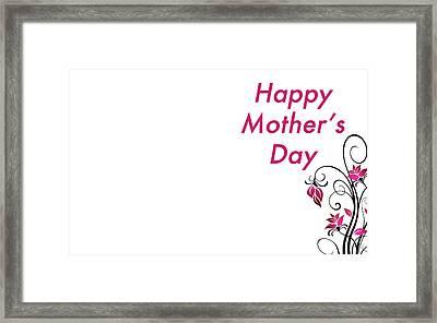 Mother's Day Framed Print