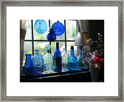 Mother's Day Window Framed Print by John Scates
