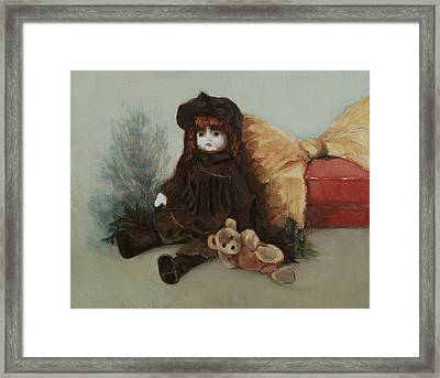 Mother's Doll Framed Print