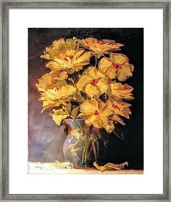Mother's Favorite Vase Framed Print