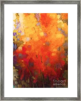 Mother's Garden 2 Framed Print