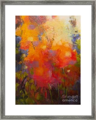 Mother's Garden Framed Print