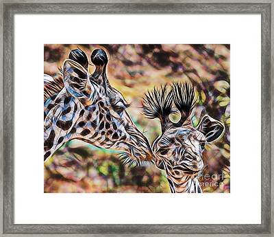 Mothers Love Framed Print