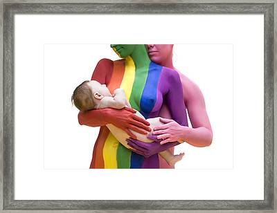 Mothers To Be Framed Print by Filippo Ioco