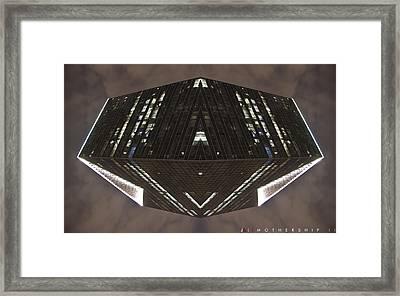 Mothership II Framed Print by Jonathan Ellis Keys